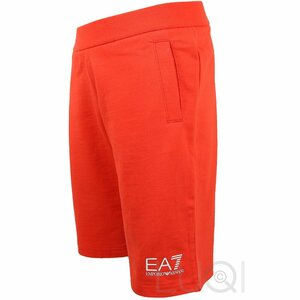 EA7 Short OranjeRood