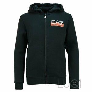 EA7 Jogging Set Zwart Oranje