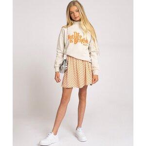 Nik & Nik Anne Cissy logo Skirt Vintage White G3479