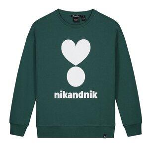 Nik & Nik Valerie Sweater Pine Green G8950