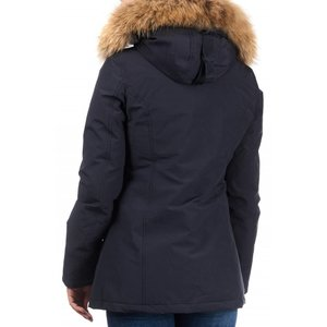 Airforce 2 pocket Parka Polyester Women RF Navy