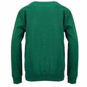 Iceberg Sweater Donkergroen Logo Zwart