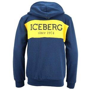 Iceberg Sweatvest blauw 1101J