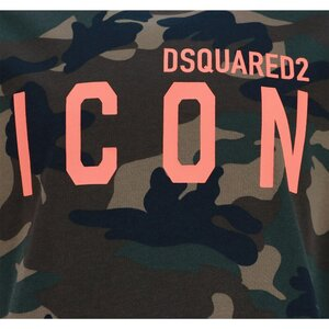 Dsquared2 Icon Shirt Camouflage relax fit