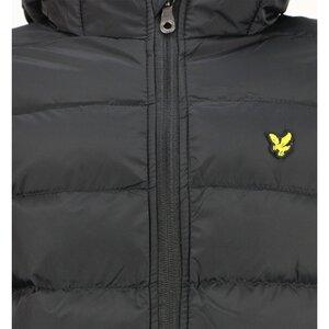 Lyle & Scott Puffer Jacket Zwart