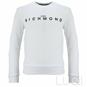 John Richmond Sweatshirt Wit Zwart