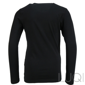 Liu Jo Longsleeve Black Snow White