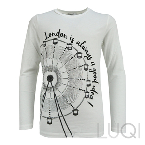Liu Jo Longsleeve Wheel White