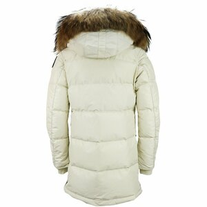 Parajumpers Long Bear Parka Off White