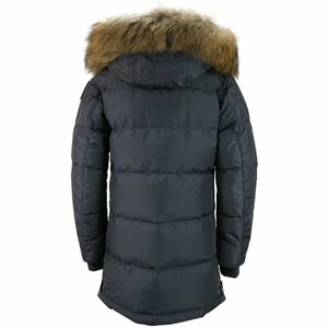 Parajumpers Long Bear Parka Donkergrijs