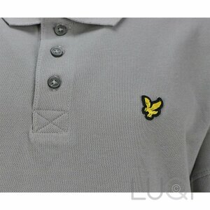 Lyle & Scott polo Dolphin Grey