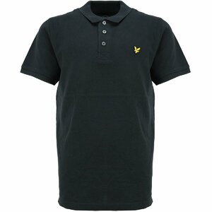 Lyle & Scott polo zwart
