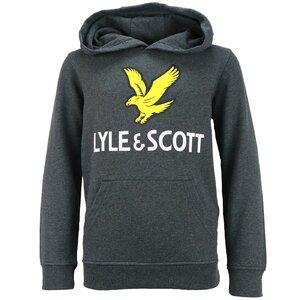 Lyle & Scott Logo hoody grijs LSC0784