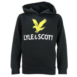 Lyle & Scott Logo hoody zwart LSC0784