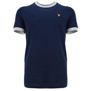 Lyle & Scott Ringer shirt Navy Blazer LSC0996