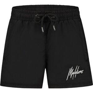 Malelions Junior Francisco Swimshort - Black/Glow In The Dark