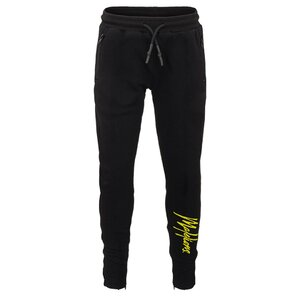Malelions Trackpants Black Yellow