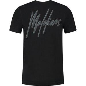 Malelions Junior Signature T-Shirt zwart