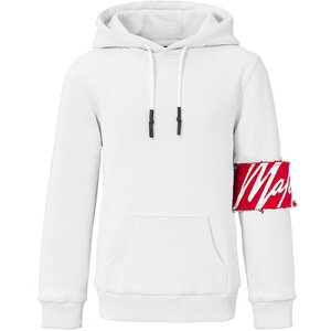 Malelions Captain Hoodie White Red met gratis pet