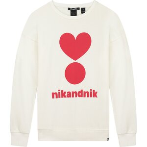 Nik & Nik Valerie Sweater Vintage White G8950