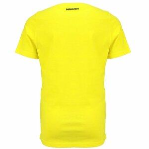 Dsquared2 Shirt Geel D2-2D