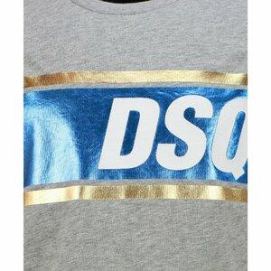 Dsquared2 Shirt Grijs met metal Print