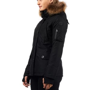 Airforce Shorty Parka Women Functional RF True Black