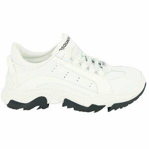 Dsquared2 Sneakers wit met witte boog