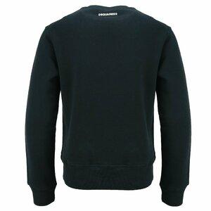 Dsquared2 Sweater Slimfit Zwart D2-2D