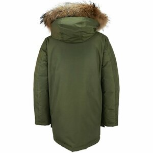 Woolrich Boys Arctic Parka Army Groen