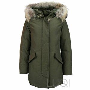 Woolrich Girls Arctic Parka FR Dark Green