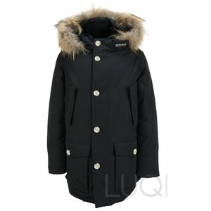Woolrich Detachable Fur BLK (Boys)
