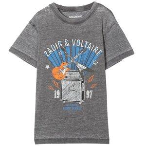Zadig & Voltaire Shirt Grijs X25256