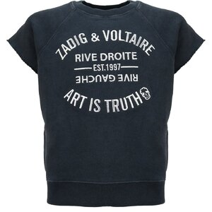 Zadig & Voltaire Shortsleeve Sweater X15266
