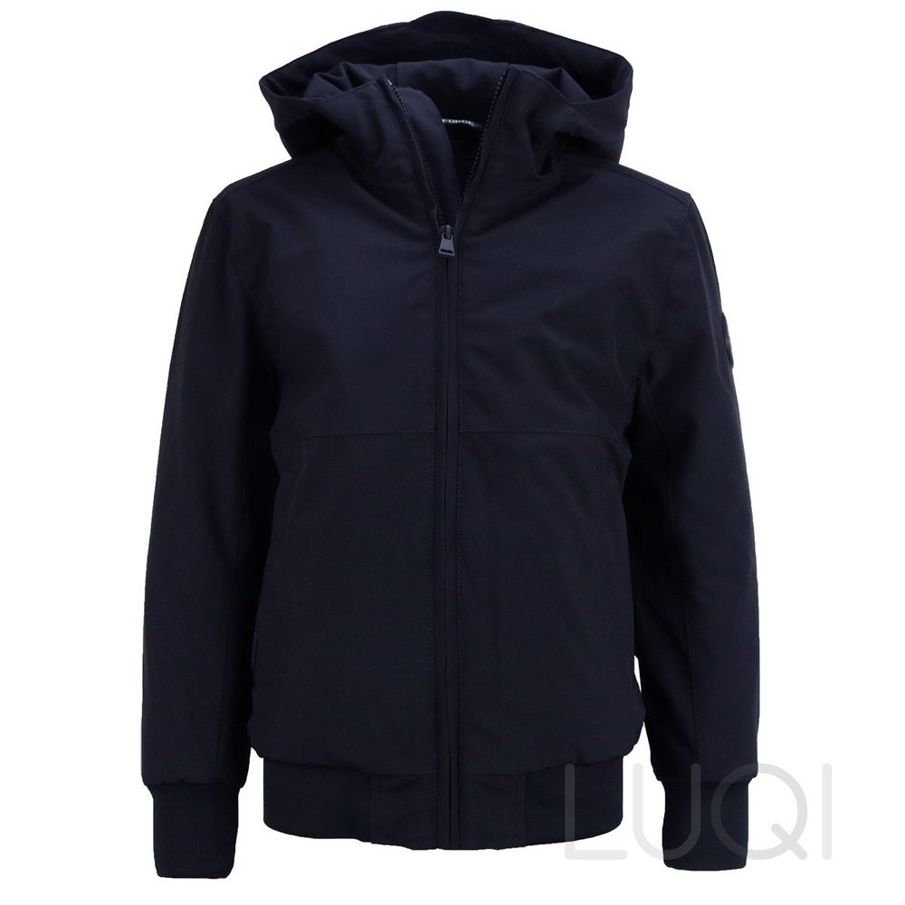 Airforce Boys Softshell Padded Bomber Navy