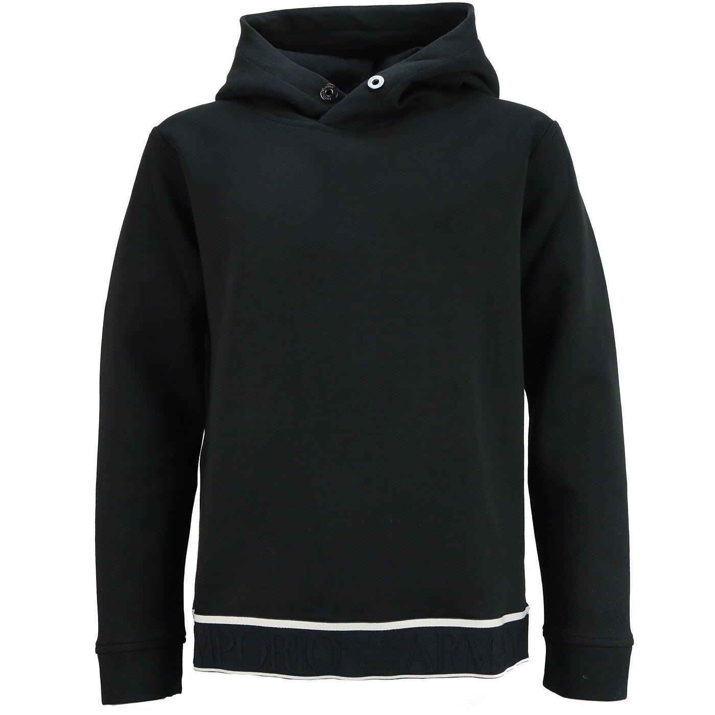Emporio Armani jersey sweatshirt black 3k4MD8