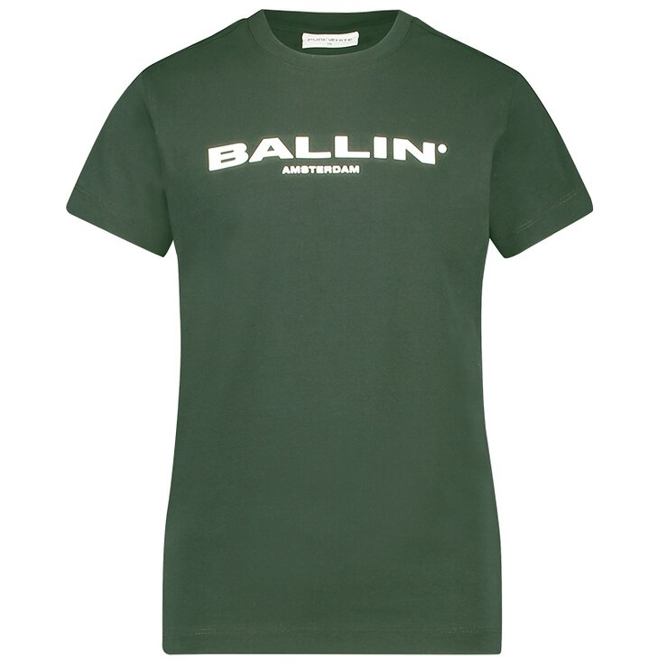 Ballin basic shirt groen