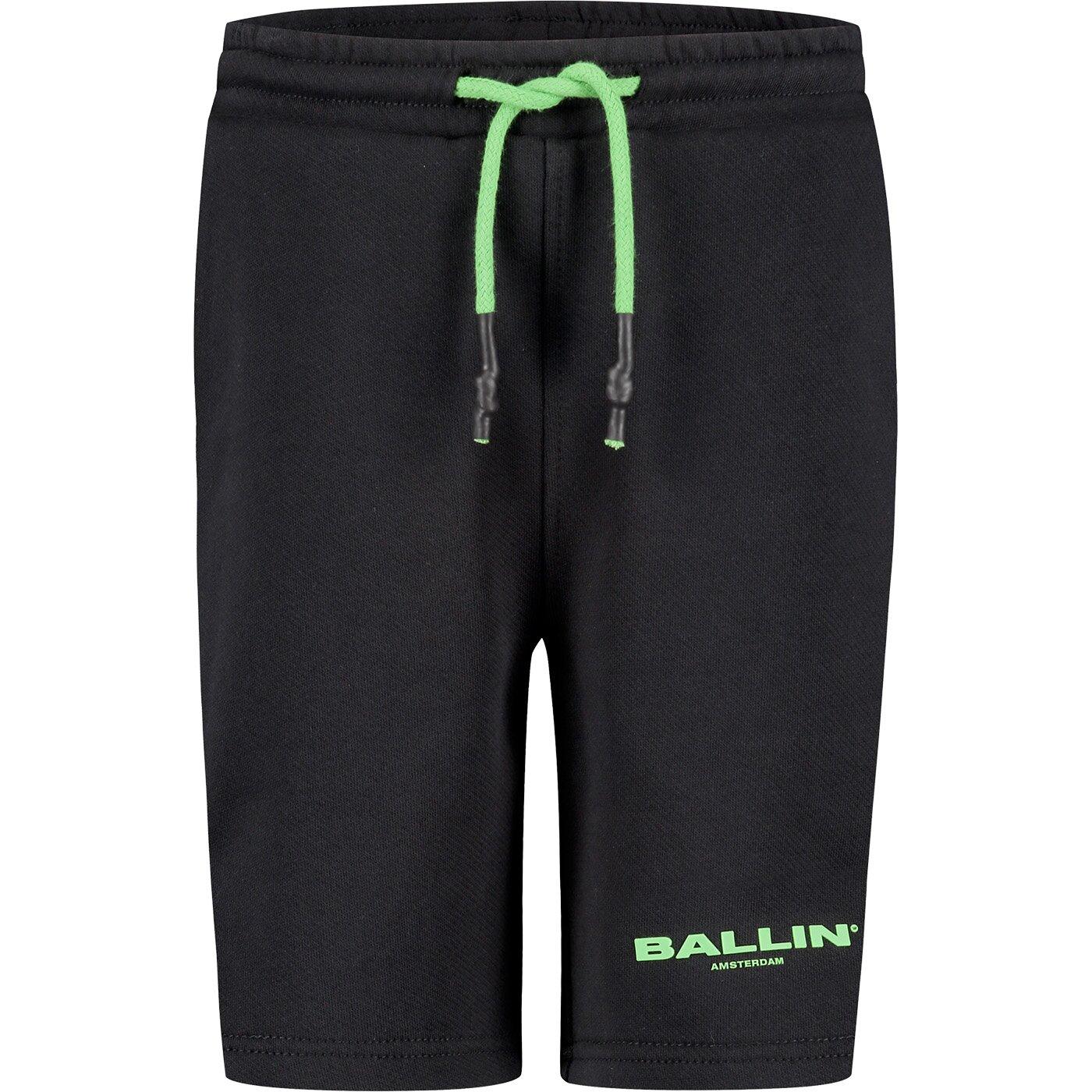 Ballin Sweatshort Zwart 21017506