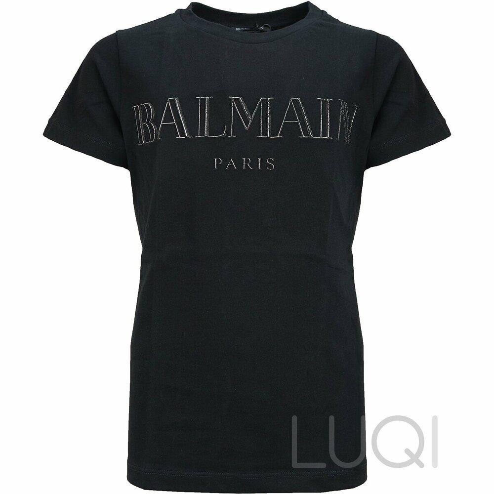 Balmain Shirt Black + Silver Logo