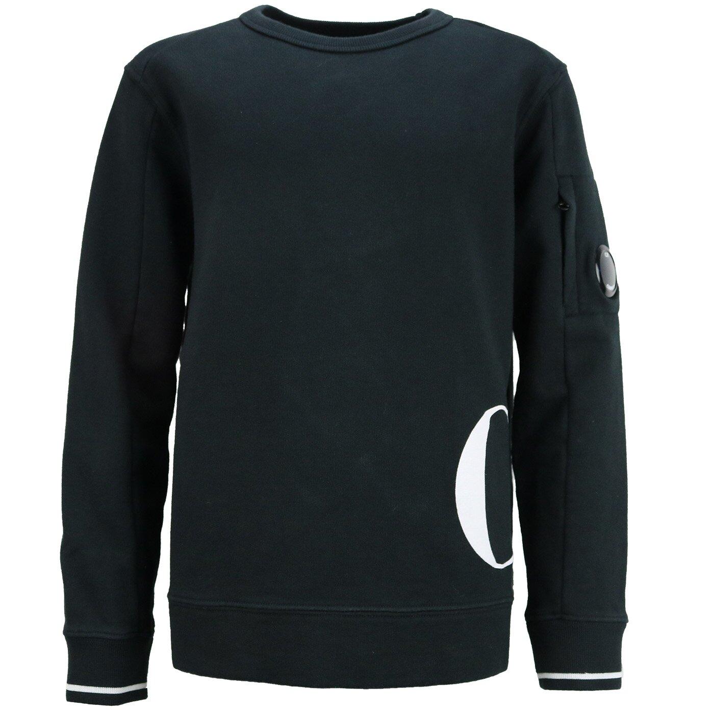 CP Company Sweatshirt zwart 10CKSS065