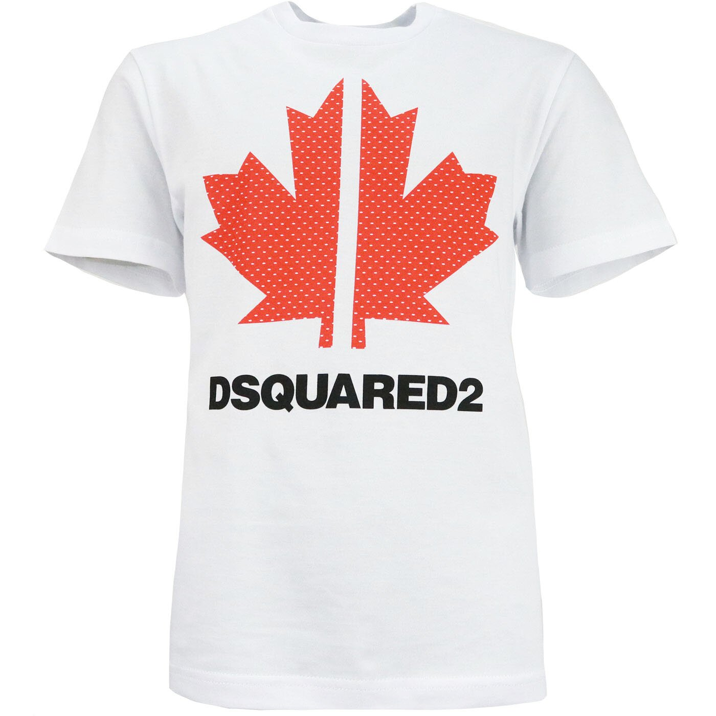 Dsquared2 Shirt Sport Edition Wit Maple DQ0028 Relax Fit