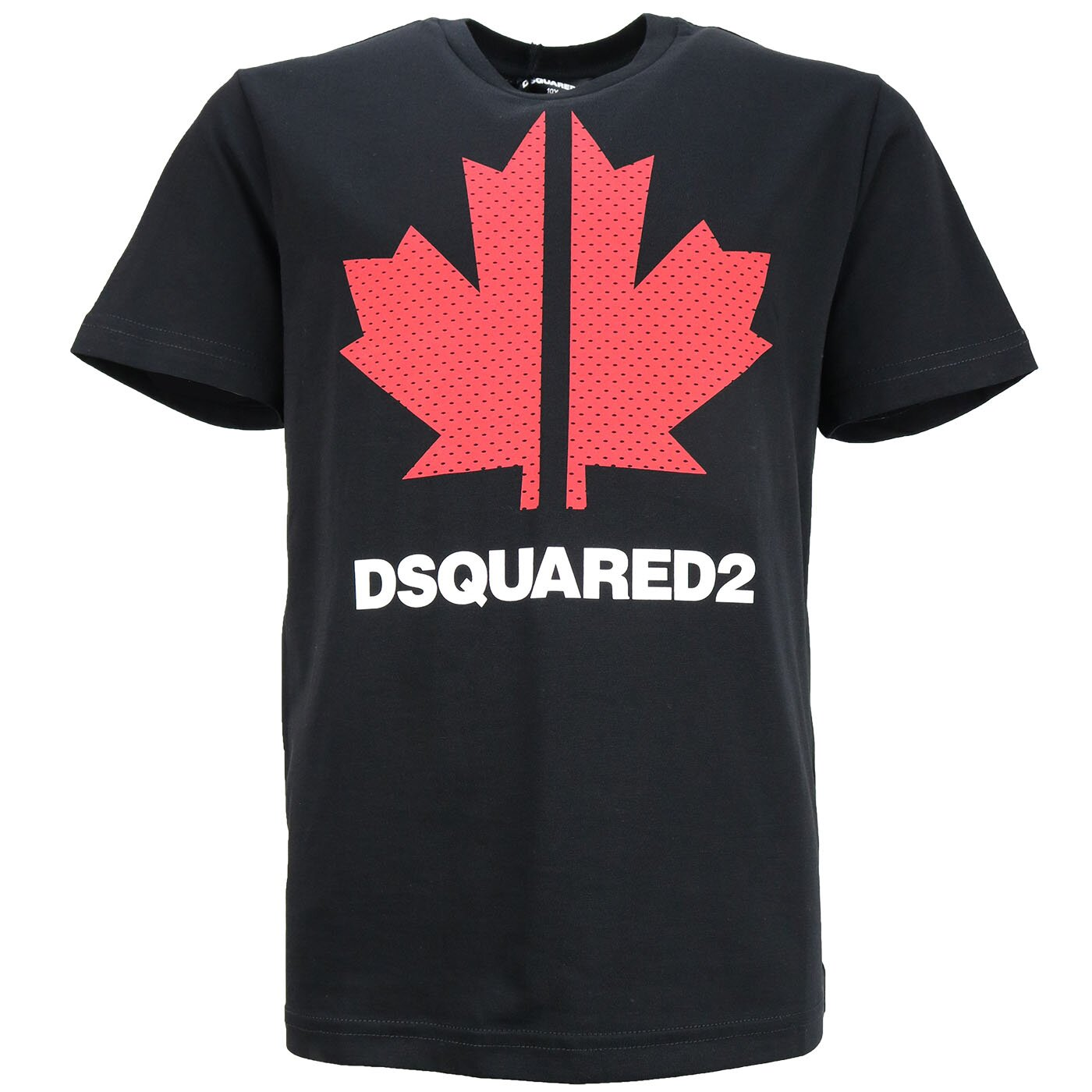 Dsquared2 Shirt Sport Edition Zwart Maple DQ0028 Relax Fit