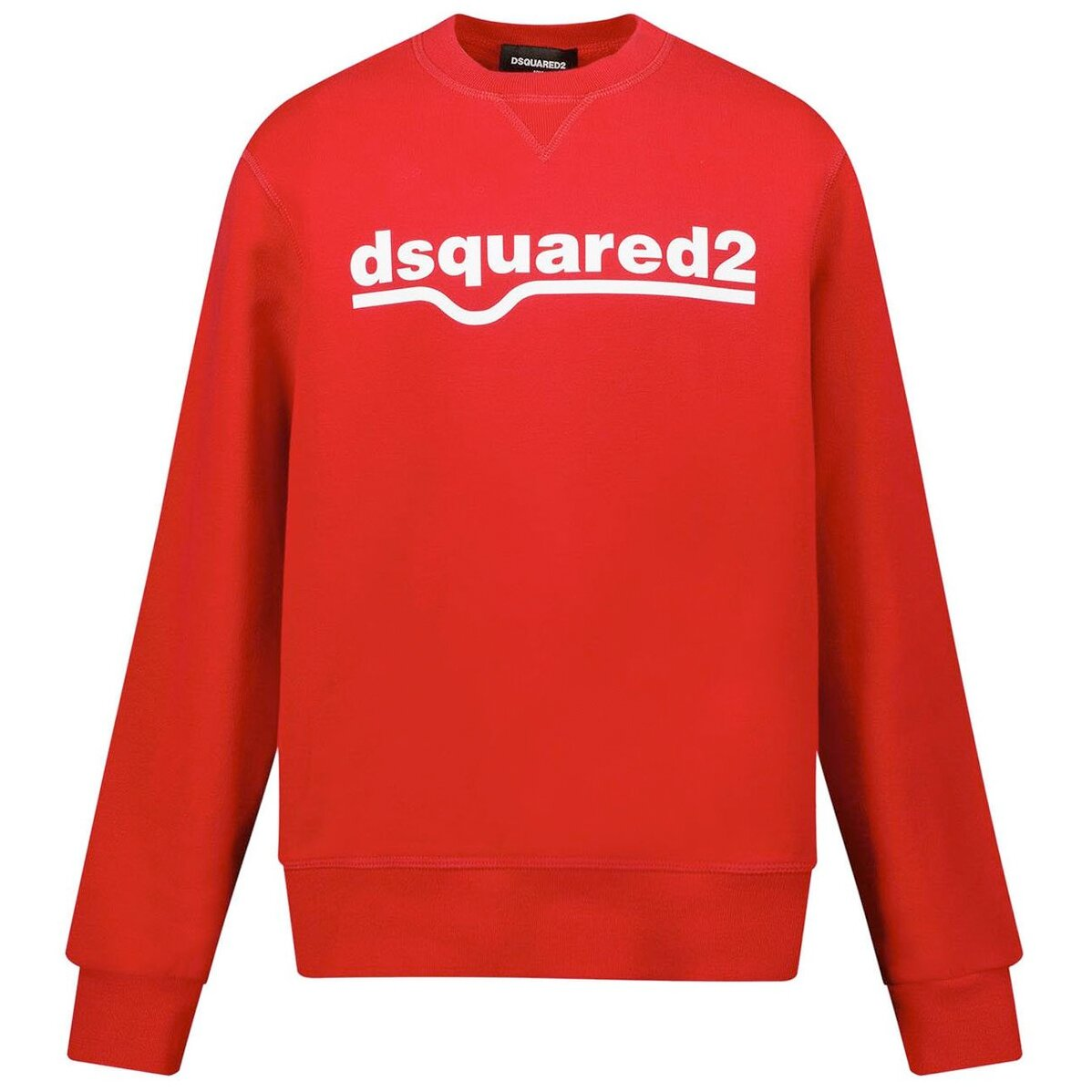 Dsquared2 Sweater Rood DQ0541 relax fit