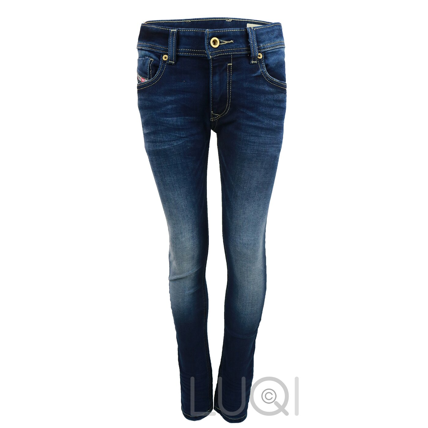 Diesel Sleenker Jeans Dark Blue