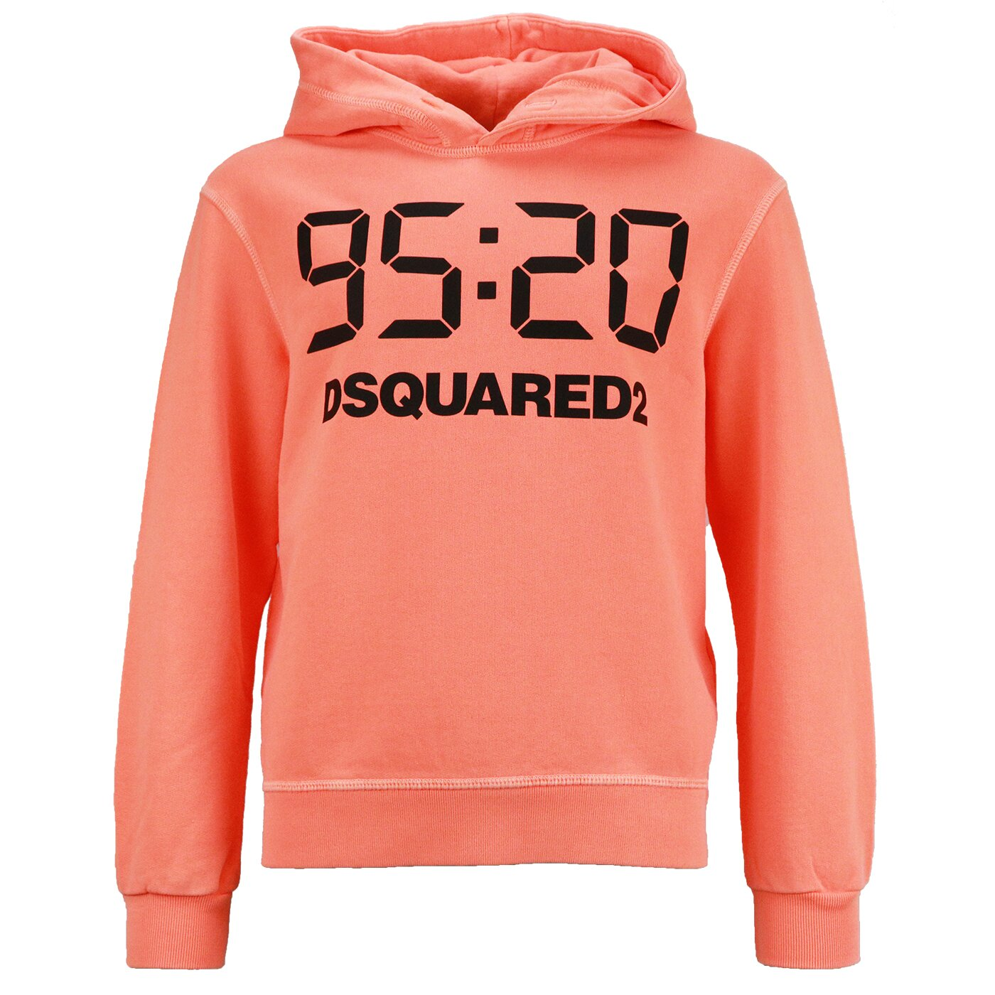 Dsquared hoody Fluo Orange 95-20 Relax Fit