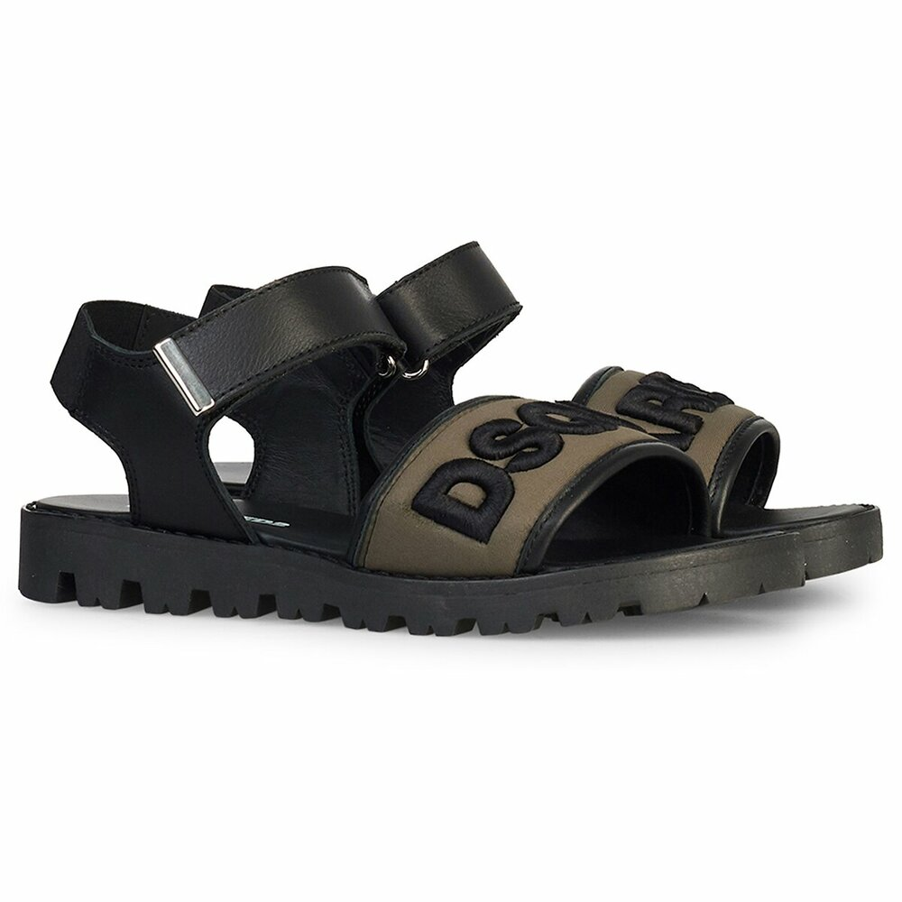 Dsquared2 Sandaal Army Zwart