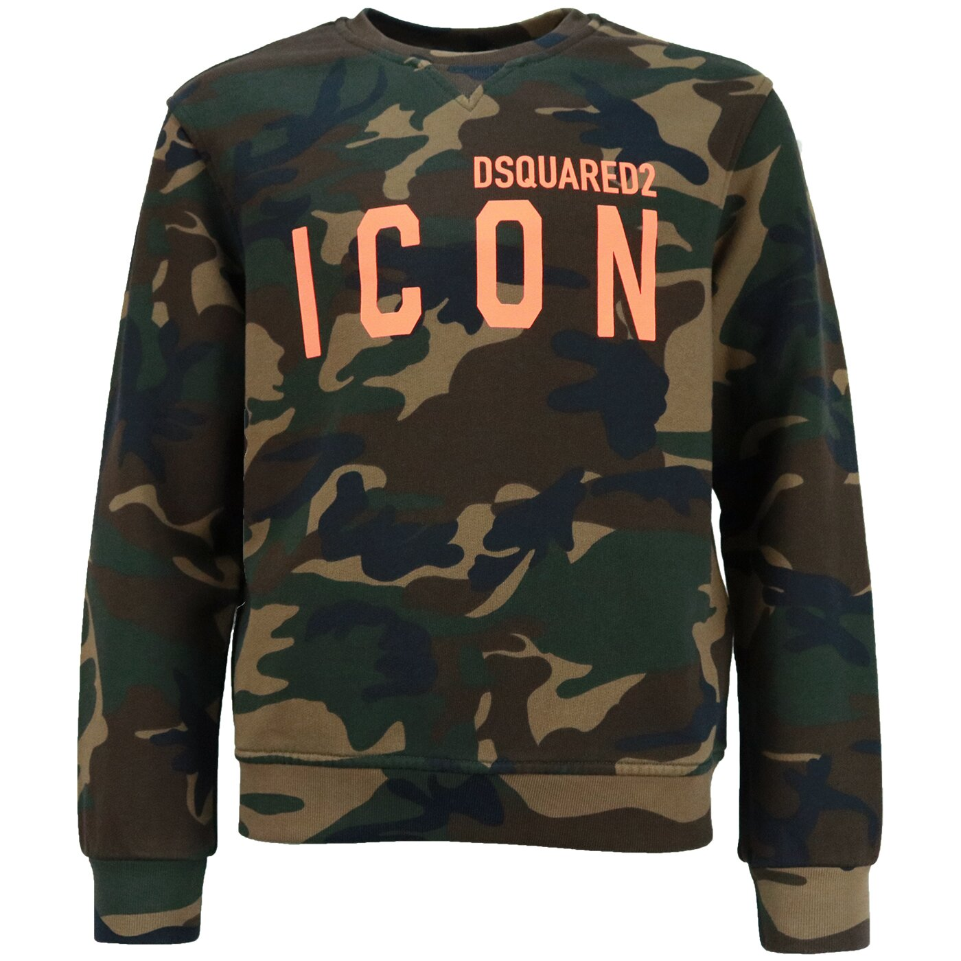 Dsquared2 Icon Sweater Camouflage relax fit