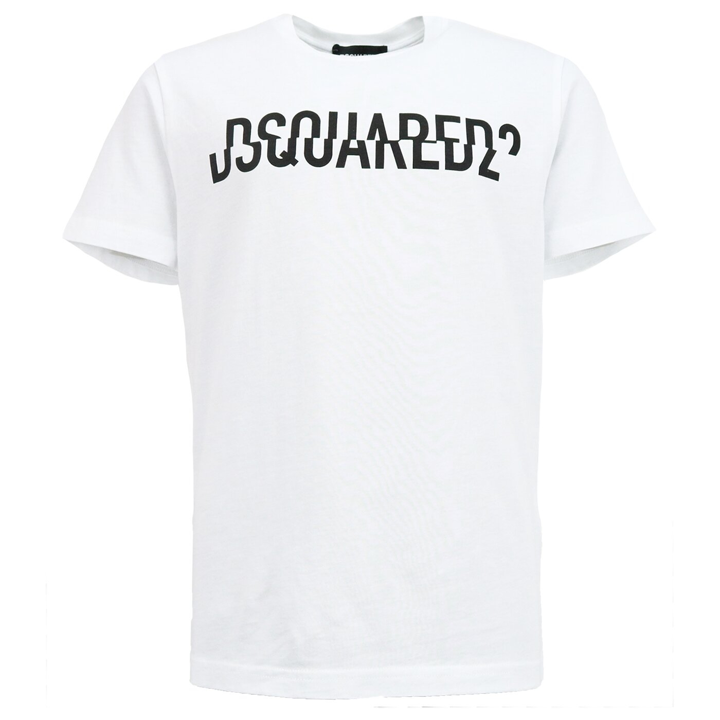 Dsquared2 Shirt wit met logo relax fit