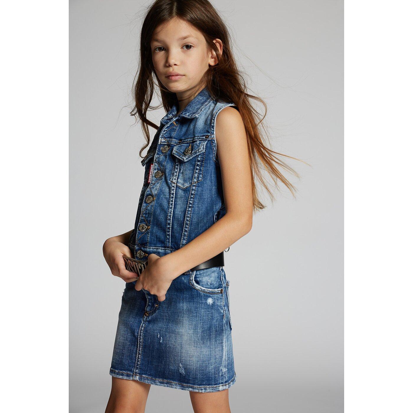 Dsquared2 DQ0091 Jeans Jurkje