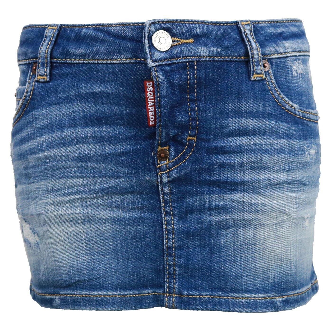 Dsquared2 Rokje Jeans DQ01W4